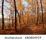 Pere Marquette State Park in Autumn, Grafton, IL