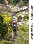 Miniature Train Railway Model...