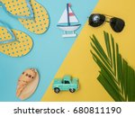 travel around the world for... | Shutterstock . vector #680811190