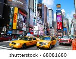 new york city   sep 5  times... | Shutterstock . vector #68081680