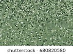 light green vector pattern with ... | Shutterstock .eps vector #680820580