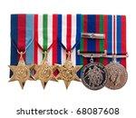 World War Ii Canadian Medals On ...