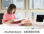 portrait of a businessman who...   Shutterstock . vector #680880448