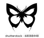 illustration of butterfly. ... | Shutterstock .eps vector #68088448