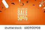 Halloween Sale Orange Web...