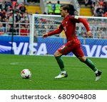 Small photo of MOSCOW, RUSSIA - JULY 2, 2017. Portuguese midfielder Adrien Silva during FIFA Confederations Cup Match for 3rd Place Portugal vs Mexico.