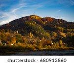 piwniczna zdroj  mount kicarz...   Shutterstock . vector #680912860