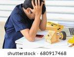 engineering controls work ... | Shutterstock . vector #680917468