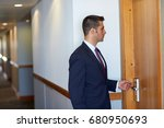 business  security and people... | Shutterstock . vector #680950693