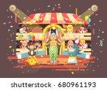 stock vector illustration... | Shutterstock .eps vector #680961193