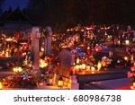 vitanova village. slovakia. 01... | Shutterstock . vector #680986738