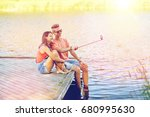 holidays  vacation  love and... | Shutterstock . vector #680995630