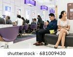 siam commercial bank  bangkok ... | Shutterstock . vector #681009430