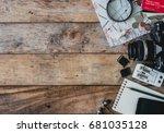 tourism concept  travel concept ... | Shutterstock . vector #681035128