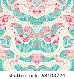 Psychedelic abstract background - stock vector