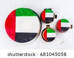uae national holiday... | Shutterstock . vector #681045058