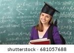 student. | Shutterstock . vector #681057688