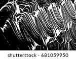grunge soap texture. distress... | Shutterstock .eps vector #681059950