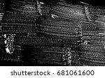 grunge soap texture. distress... | Shutterstock .eps vector #681061600