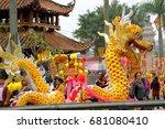 namdinh  vietnam   april 2 ... | Shutterstock . vector #681080410