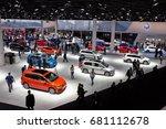 frankfurt  germany   sep 16 ... | Shutterstock . vector #681112678