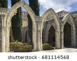 Bellapais Abbey Near Kyrenia ...