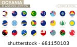 alphabetically sorted circle... | Shutterstock .eps vector #681150103