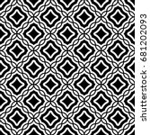 seamless surface pattern design ... | Shutterstock .eps vector #681202093