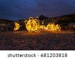 clifton beach   cape town ... | Shutterstock . vector #681203818