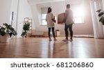 full length rear view shot of... | Shutterstock . vector #681206860