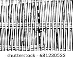 wicker black and white texture  ... | Shutterstock . vector #681230533