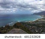 west side of oahu. makaha ... | Shutterstock . vector #681232828
