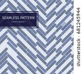 modern simple geometric fabric... | Shutterstock .eps vector #681245944