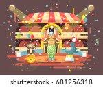 stock vector illustration...   Shutterstock .eps vector #681256318