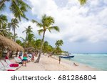 saona  dominican republic   may ... | Shutterstock . vector #681286804