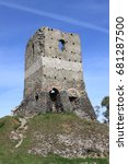 Small photo of Tower on the Via Appia Antica in Rome, Italy