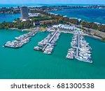 sarasota yacht club marina in...   Shutterstock . vector #681300538