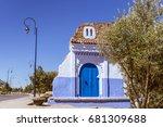 the doorway for entrance in the ...   Shutterstock . vector #681309688