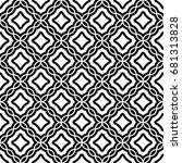seamless surface pattern design ... | Shutterstock .eps vector #681313828