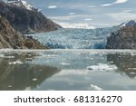South Sawyer Glacier At The En...