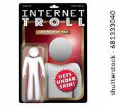 Internet Troll Action Figure...
