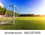the goal of the campus | Shutterstock . vector #681337450