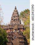 buriram thailand   february 11  ...   Shutterstock . vector #681341590