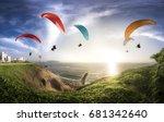 Lima  Peru  Paraglides In...