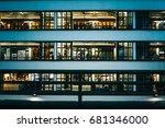 july 14  2017  central  hong... | Shutterstock . vector #681346000