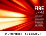 abstract red motion blur...   Shutterstock .eps vector #681353524