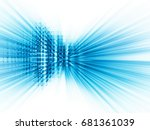 abstract background element.... | Shutterstock . vector #681361039