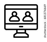 user icon | Shutterstock .eps vector #681376669