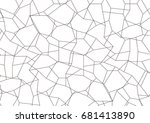 abstract background. technology ... | Shutterstock .eps vector #681413890