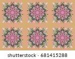 design. stock raster...   Shutterstock . vector #681415288